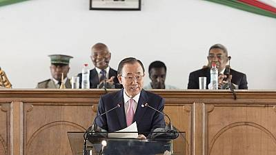 Ban Ki-moon calls for an end to corruption in Madagascar