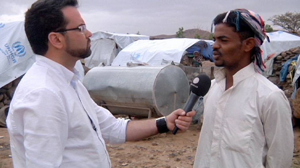 Life for the displaced in Yemen - an exclusive Euronews report