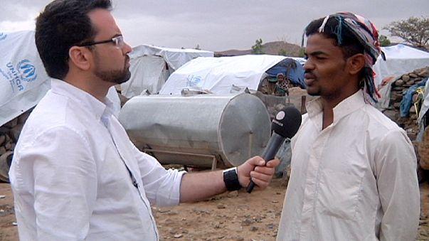 Reportaje exclusivo de euronews en el campo de Darwan en el Yemen