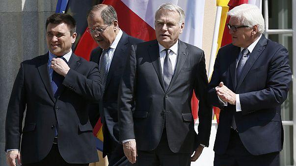 Peu de résultats à Berlin après une rencontre autour de l'Ukraine