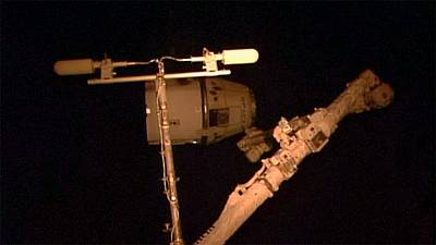 Dragon heads back to Earth