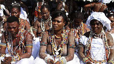 Le vodoun à l'honneur au Togo
