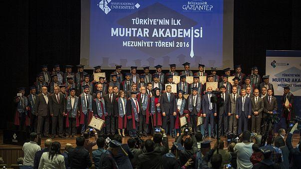 Muhtarlar Akademisi ilk mezunlarını verdi
