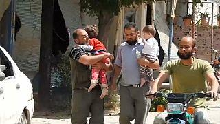 El autoproclamado Estado Islámico intenta cortar los accesos por carretera a Palmira