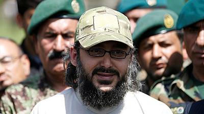 Freed son of former Pakistani Prime Minister returns home