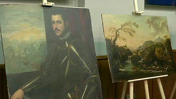 Paintings stolen from Verona found on island near Ukraine