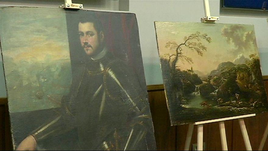 أوكرانيا: استعادة 17 لوحة فنية سرقت في إيطاليا
