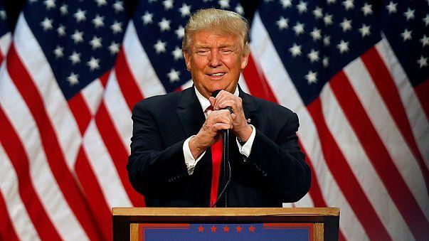 Trump a Washington chiede l'investitura ufficiale del partito