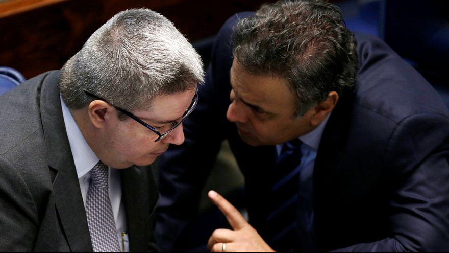 Brasilien -- Senatsmehrheit für Absetzung von Präsidentin Rousseff