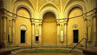 A Rác fürdő káprázatos belső terei - FOTÓK