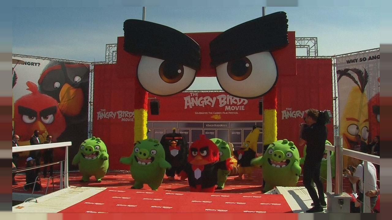Angry Birds hope to make Happy Shareholders as movie comes out
