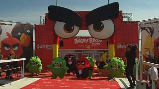 """Angry Birds"" landen in Cannes"