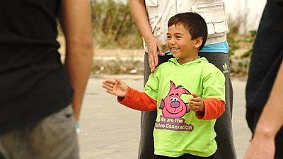 Improvisierte Flüchtlingslager in Griechenland: Beengt und ohne Privatsphäre