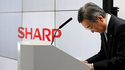 Sharp's losses widen, underscoring Foxconn's turnaround challenge