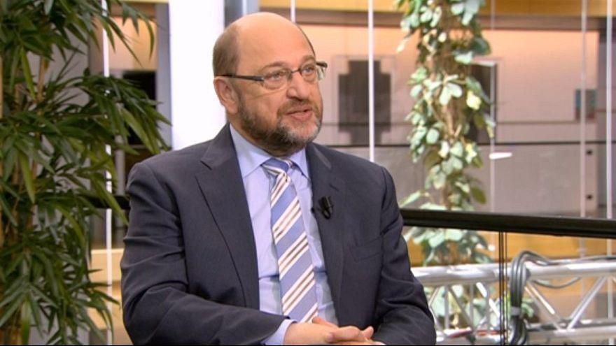 """Martin Schulz: """"A UE encontra-se num estado lamentável"""""""