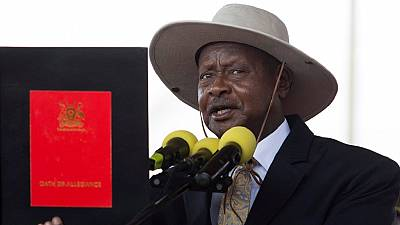 Museveni extends 30-year rule, sworn in for fifth term
