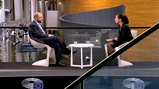 """Martin Schulz: """"Estamos jugando con el futuro de la próxima generación"""""""