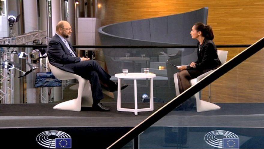 """Schulz: """"Chegámos a uma situação lamentável no seio da UE"""""""
