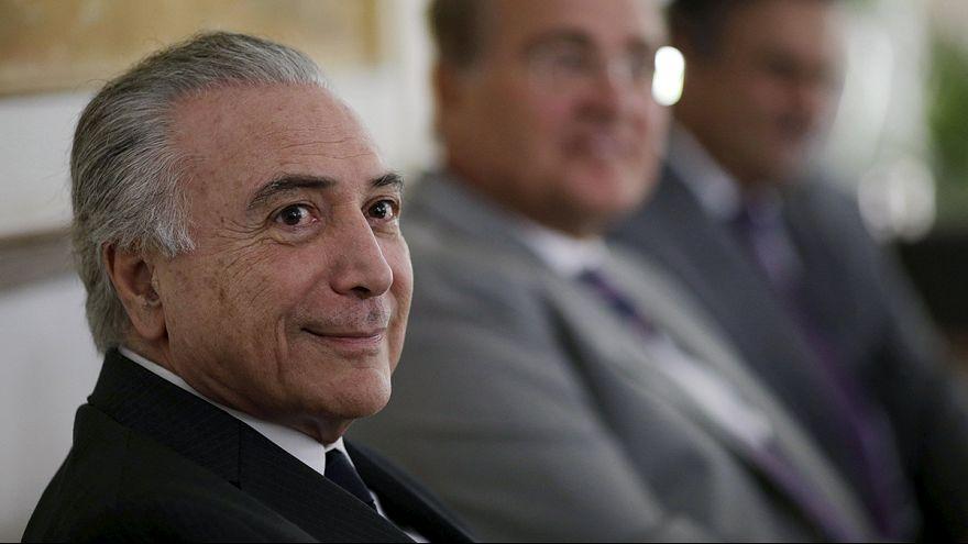 A korrupció visszaszorítását várják Temertől Brazíliában