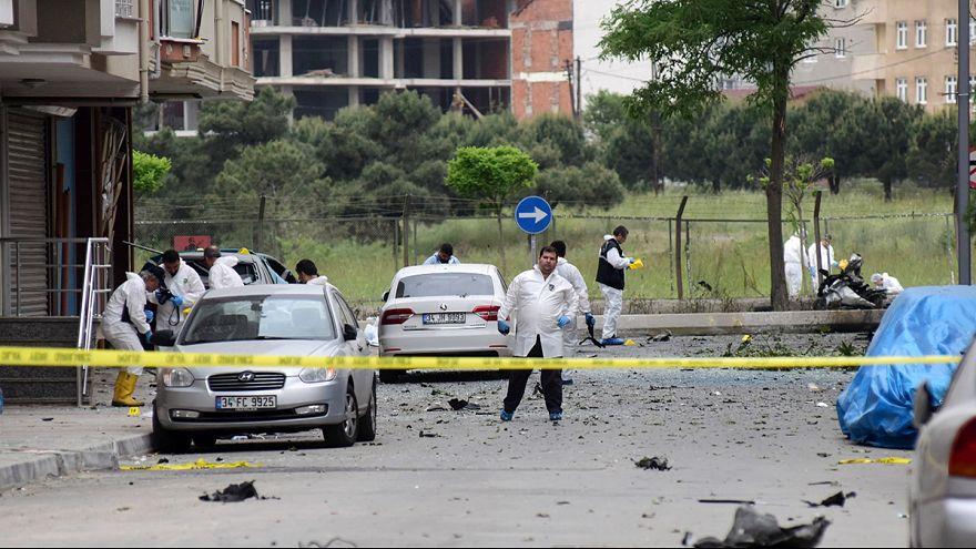 Взрыв в Стамбуле, пятеро раненых