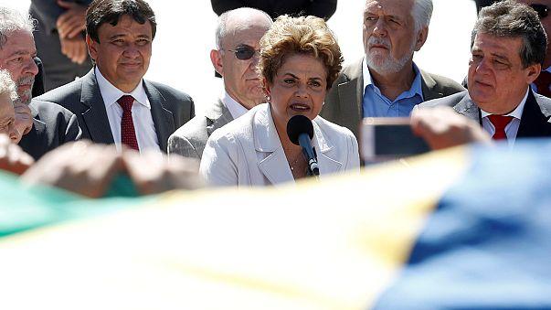 Brezilya'da Senato'nun kararı sonrası Rousseff'den sert açıklama