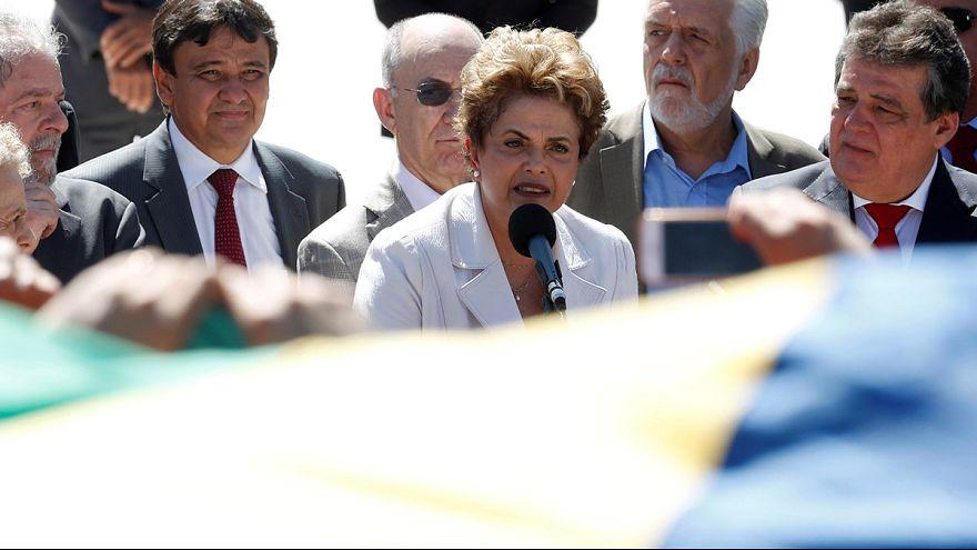 "Dilma Rousseff: ""Nunca vamos a dejar de luchar"""