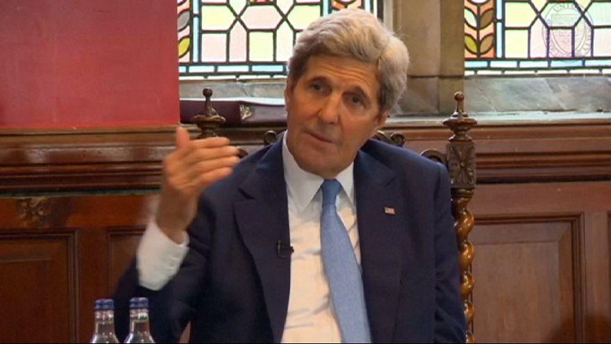 Kerry incita a los banqueros europeos a volver a los negocios con Irán