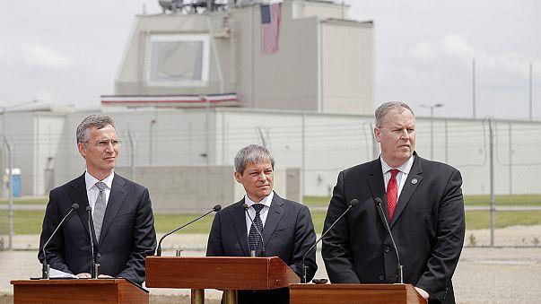 Felavatták az amerikai rakétavédelmi rendszer romániai bázisát