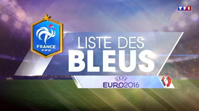 France names squad for Euro 2016 Martial, Payet and Kante in