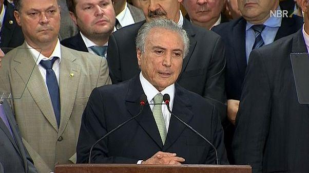 Michel Temer toma las riendas de Brasil