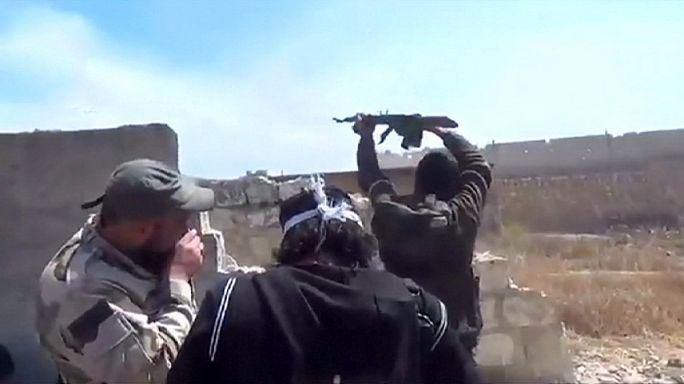 سوريا: عودة المعارك الضارية على عدة جبهات