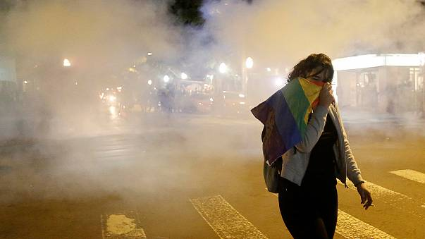Brasile, a San Paolo in centinaia in piazza contro Temer