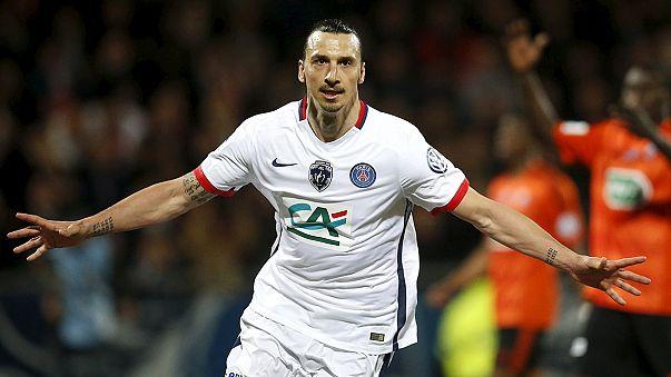 Ibrahimovic anuncia saída do PSG