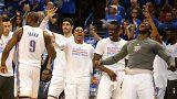 الدوري الأمريكي لكرة السلة: ثاندر يسحق سبيرز و يتأهل إلى النهائي