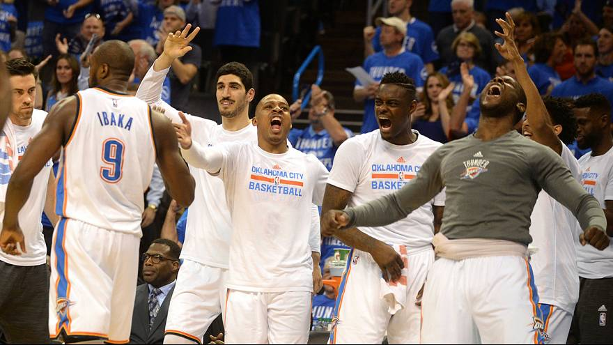 NBA: Oklahoma City Thunder na final da Conferência Oeste
