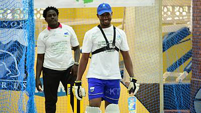 Rwandan cricketer breaks world record after batting for 51 hours