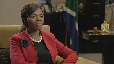 South Africa's 'Iron Lady' talks to Africanews about tackling corruption