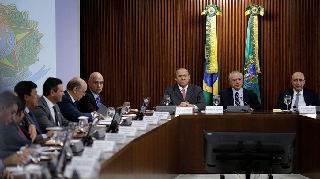 Brazil's new government sets sights on reversing economic slump
