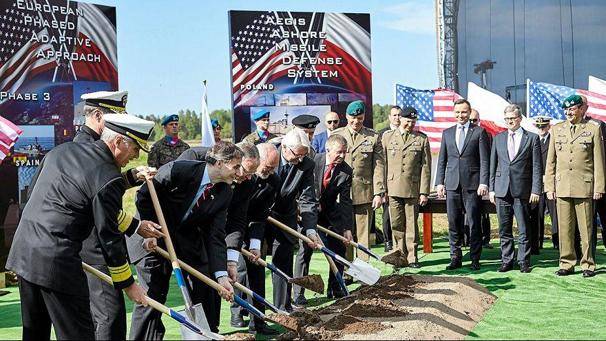 Grundsteinlegung für Nato-Raketenschild in Polen