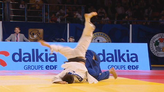 Гран-при по дзюдо в Алма-Ате: сенсационный Манци в числе победителей