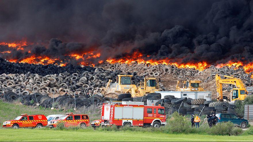 اسبانيا :حريق هائل بالقرب من مدريد يتسبب في إجلاء أكثر من ألف شخص