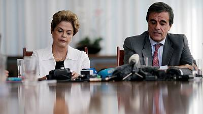 Rousseff attacks Brazil's 'illegitimate' interim government and vows to return