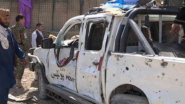 Taliban claim suicide bombing outside Afghan police academy