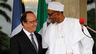 """Presidente francês diz que """"Boko Haram continua a ser uma ameaça"""""""