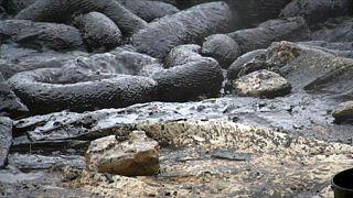 Természeti katasztrófa fenyeget: olaj ömlött a tengerbe Rijekánál