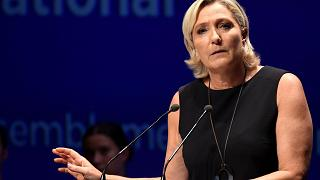 Image: Leader of France's Rassemblement National far-right political party