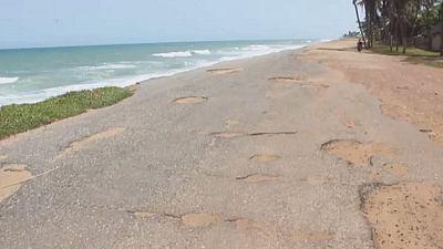 Togo : les villes côtières en voie de disparition