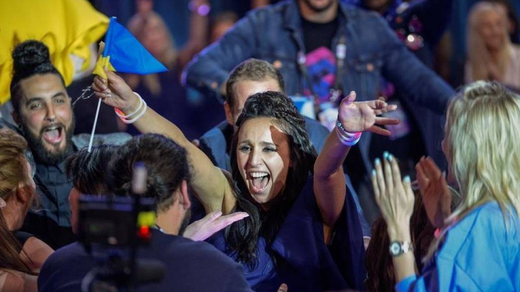 Jamala's 'political' song wins Eurovision for Ukraine in Stockholm