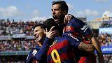 برشلونة يختطف لقب الليغا من الريال ولويس سواريز هداف الدوري
