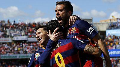 Barcelona clinch their 24th la Liga title